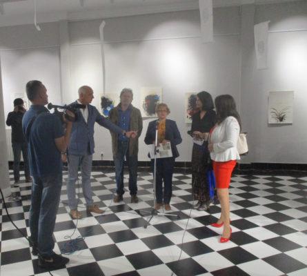 """От откриването на изложбата """"Пътни бележки"""" в Културния център на Лесковац, Сърбия"""