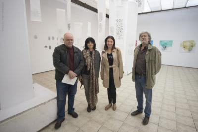 """От откриването на изложбата """"re-cycle/re-create"""" в Галерията за съвременно изкуство, Ниш, Сърбия"""