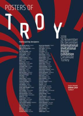 """Плакатът на изложбата """"Posters of Troy"""""""